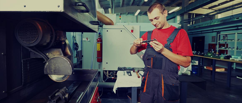 Repair of machinery and equipment